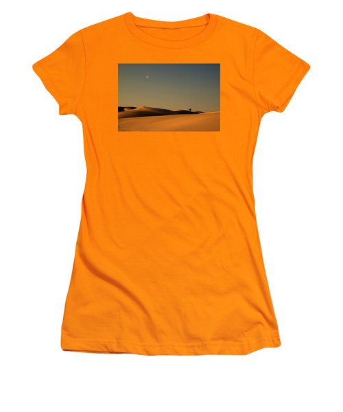 Skn 1117 Camel Ride At 6 Women's T-Shirt (Junior Cut) by Sunil Kapadia