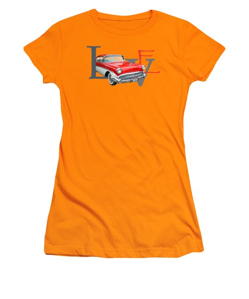 Love Women's T-Shirt (Junior Cut) by Laur Iduc