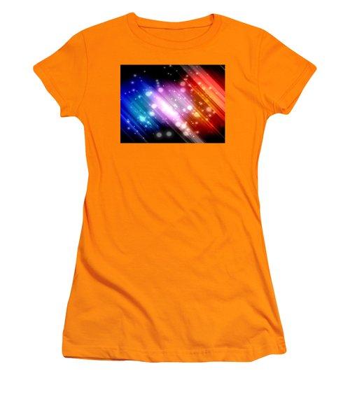 Sky Beams Women's T-Shirt (Junior Cut) by Carol Crisafi
