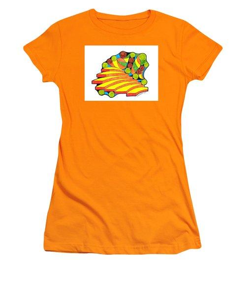 Snow Day 1 Women's T-Shirt (Junior Cut) by Paul Meinerth