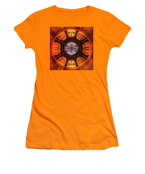 Solar Worship Women's T-Shirt (Junior Cut) by Az Jackson