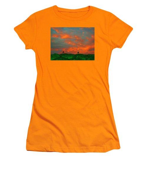 Somewhere Else Women's T-Shirt (Athletic Fit)