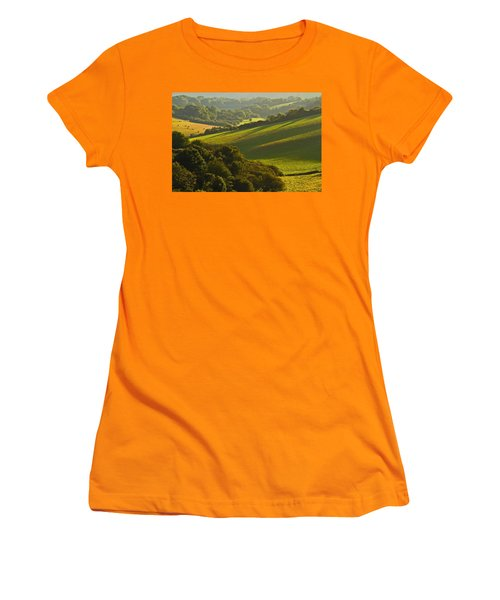 South Downs Women's T-Shirt (Athletic Fit)