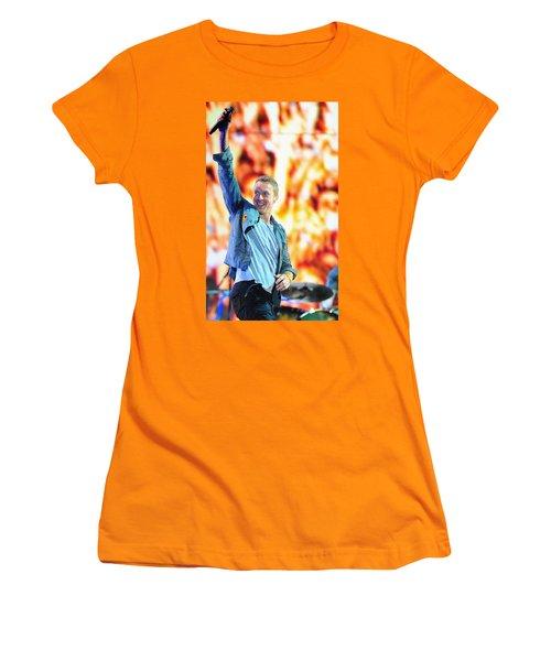 Coldplay4 Women's T-Shirt (Junior Cut) by Rafa Rivas