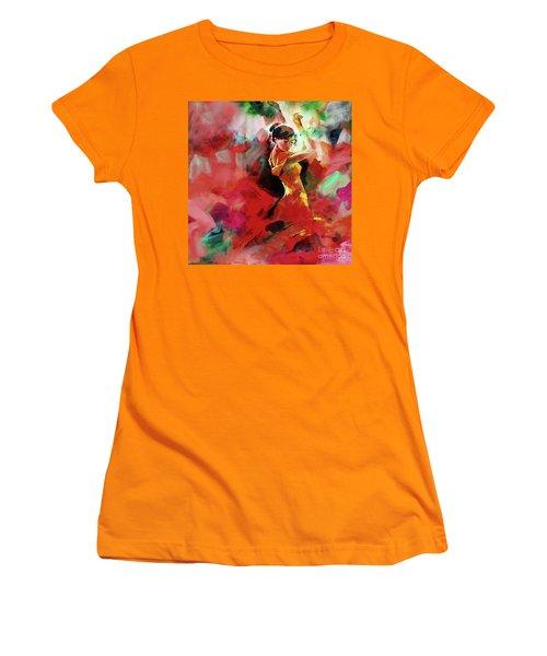Spanish Dance Women's T-Shirt (Junior Cut) by Gull G