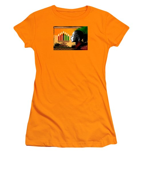 Spirit Of Kwanzaa Women's T-Shirt (Athletic Fit)