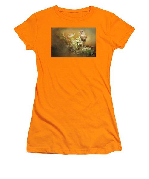 Spring Is In The Air Women's T-Shirt (Junior Cut) by Linda Blair