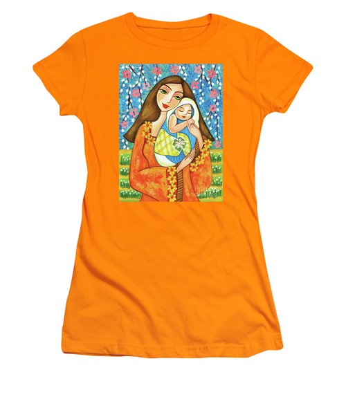 Spring Mother Women's T-Shirt (Athletic Fit)