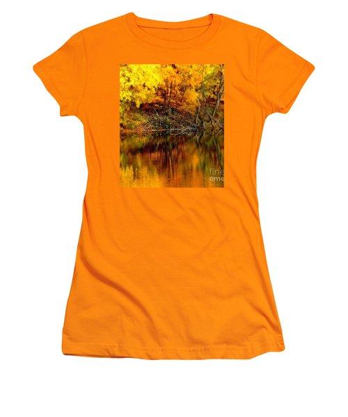 Still Gold Women's T-Shirt (Athletic Fit)