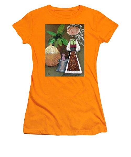 Still Life With Countru Girl Women's T-Shirt (Junior Cut)