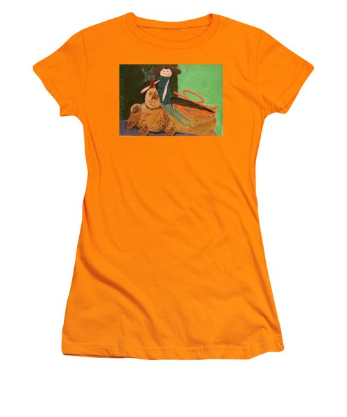 Still Life With Old Toys Women's T-Shirt (Junior Cut) by Manuela Constantin