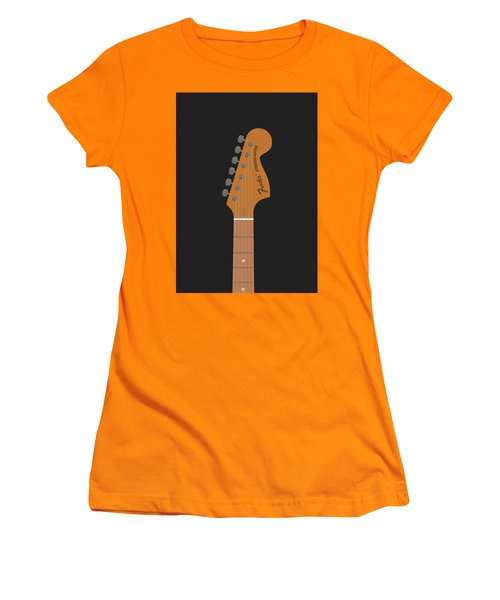 Stratocaster Guitar Women's T-Shirt (Athletic Fit)