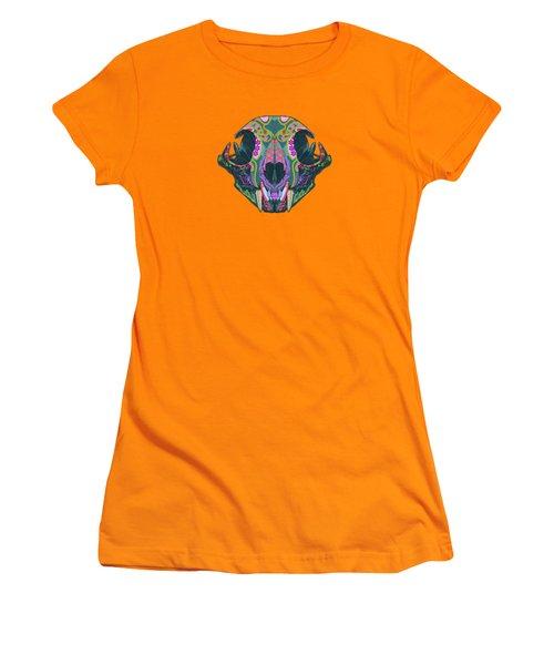Sugar Lynx  Women's T-Shirt (Junior Cut) by Nelson dedos Garcia