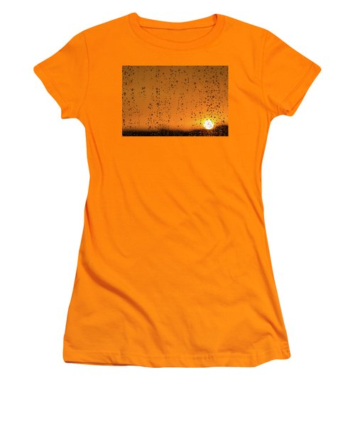 Summer Evening Women's T-Shirt (Athletic Fit)