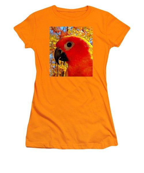 Sun Conure  Women's T-Shirt (Athletic Fit)