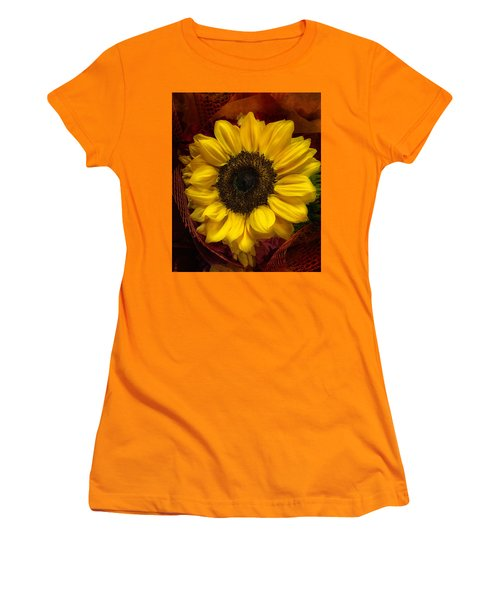 Sun In The Flower Women's T-Shirt (Junior Cut) by Arlene Carmel