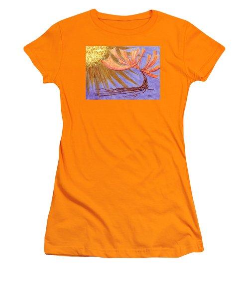 Sundancer Women's T-Shirt (Junior Cut) by Charles Cater