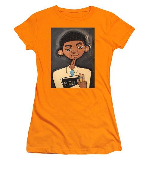 Sunday School Women's T-Shirt (Athletic Fit)