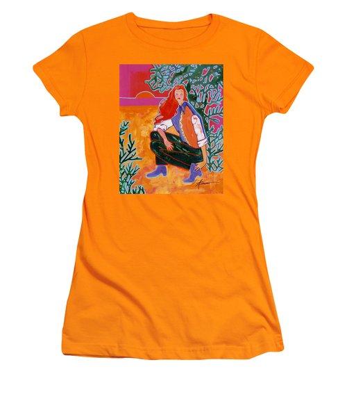 Sundown Women's T-Shirt (Athletic Fit)