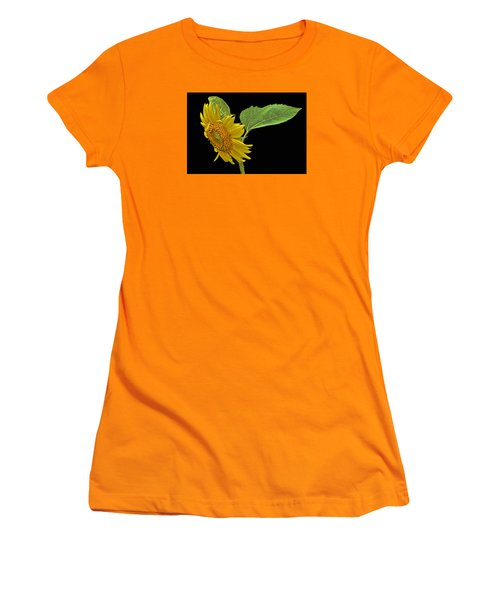 Women's T-Shirt (Junior Cut) featuring the photograph Sunflower by Don Durfee