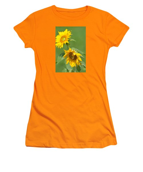 Sunny Side Up 1 Women's T-Shirt (Athletic Fit)