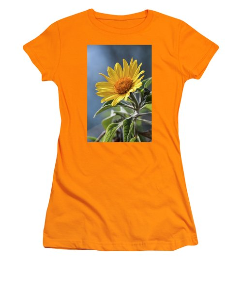Women's T-Shirt (Junior Cut) featuring the photograph Sunny Side Up  by Saija Lehtonen