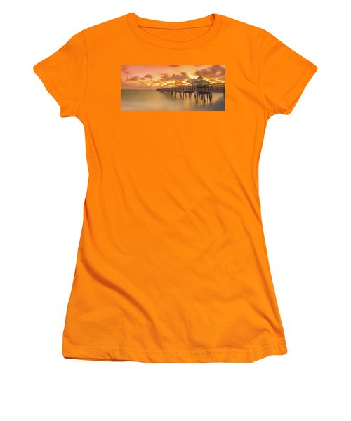 Sunrise At Juno Beach Women's T-Shirt (Athletic Fit)