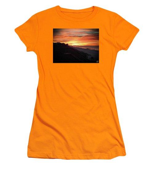 Sunrise Over Santa Rosa Beach Women's T-Shirt (Athletic Fit)