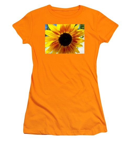 Sunshine Sunflower Women's T-Shirt (Athletic Fit)