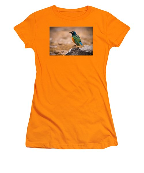 Superb Starling Women's T-Shirt (Athletic Fit)