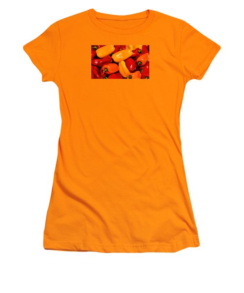 Sweet Peppers Women's T-Shirt (Athletic Fit)