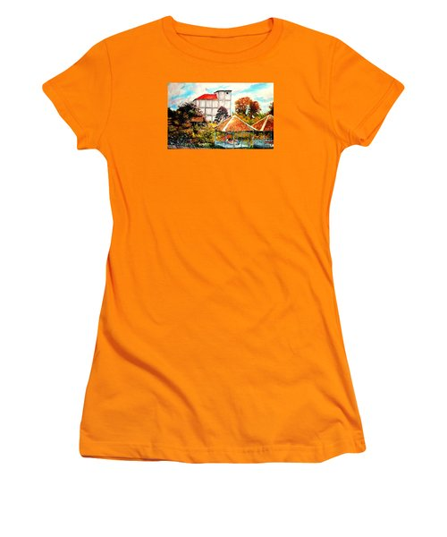 Swifts  Nest's Building Women's T-Shirt (Junior Cut) by Jason Sentuf