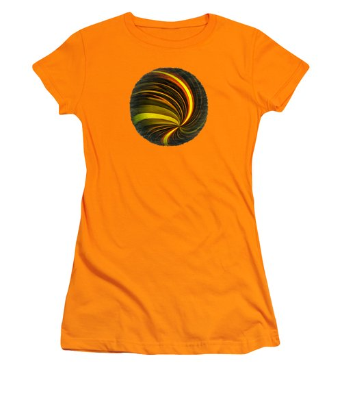 Swirls And Curls Women's T-Shirt (Athletic Fit)