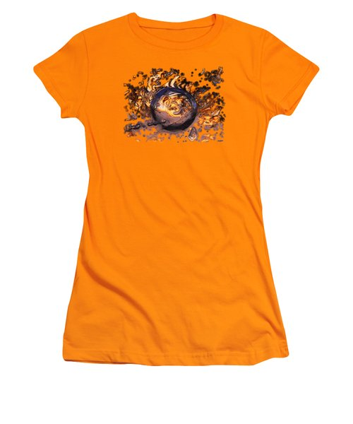 Women's T-Shirt (Junior Cut) featuring the photograph Swirly Gateway by Sami Tiainen