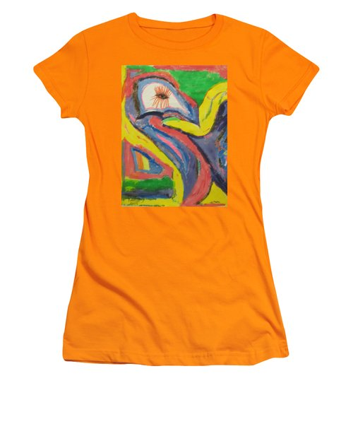 Artwork On T-shirt 0011 Women's T-Shirt (Athletic Fit)