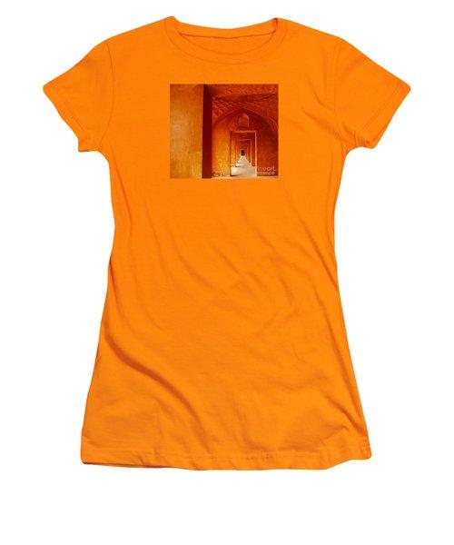 Taj Mahal Women's T-Shirt (Junior Cut) by M G Whittingham