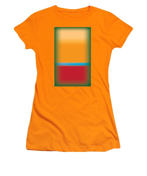Tall Abstract Color Women's T-Shirt (Athletic Fit)