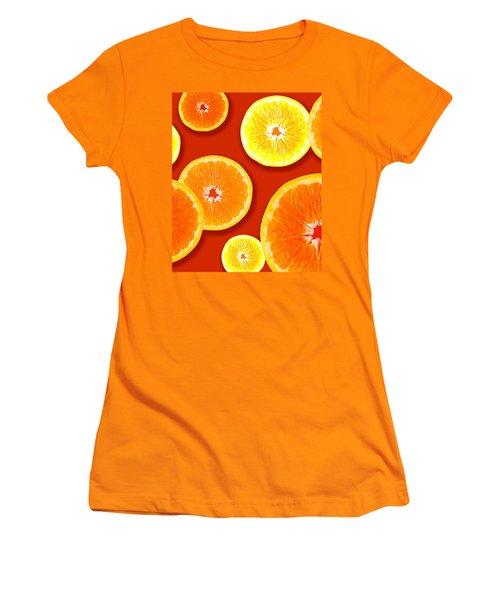 Tangerine Tango Women's T-Shirt (Junior Cut) by Tara Hutton