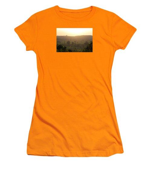 Tansa Valley, Vajreshwari From The Devi Temple Complex Women's T-Shirt (Junior Cut) by Jennifer Mazzucco
