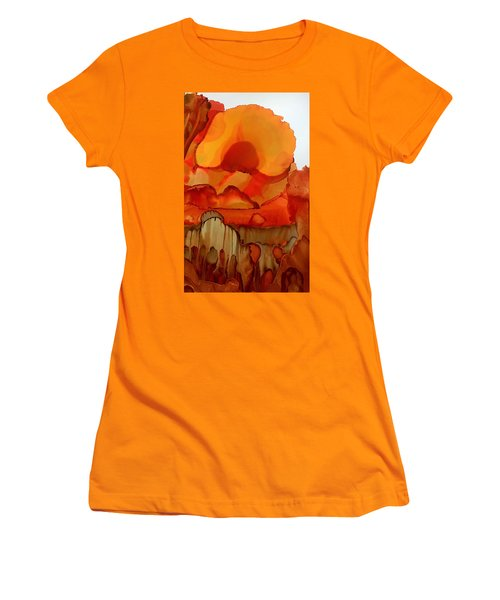 The Ball Of Fire Women's T-Shirt (Athletic Fit)