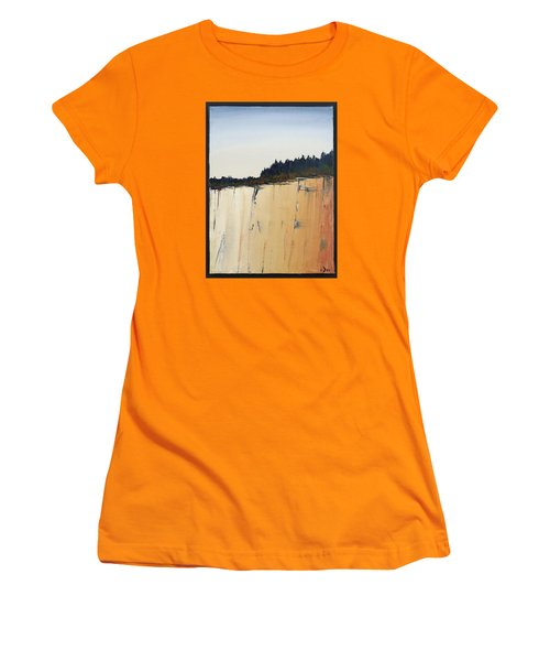 The Bluff Women's T-Shirt (Athletic Fit)