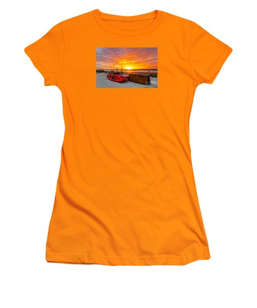 The Break Of Day Women's T-Shirt (Athletic Fit)