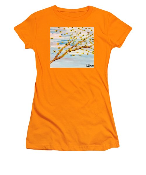 The Butterfly Tree Women's T-Shirt (Athletic Fit)
