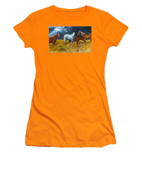 The Calm After The Storm Women's T-Shirt (Athletic Fit)