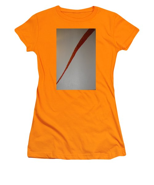 The Carrot Women's T-Shirt (Junior Cut) by Barbara Yearty