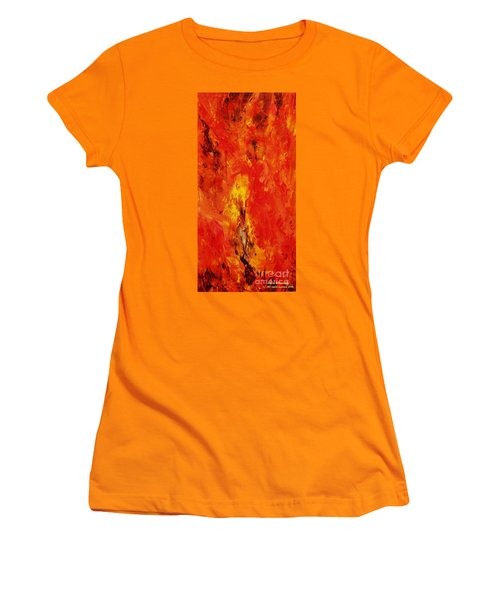 The Elements Fire #1 Women's T-Shirt (Athletic Fit)