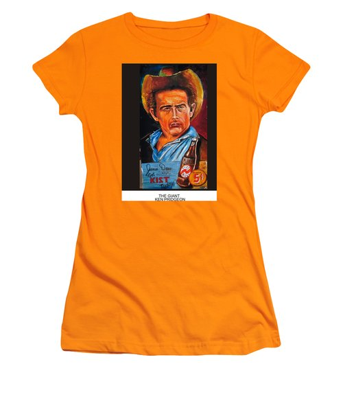 The Giant Women's T-Shirt (Junior Cut) by Ken Pridgeon