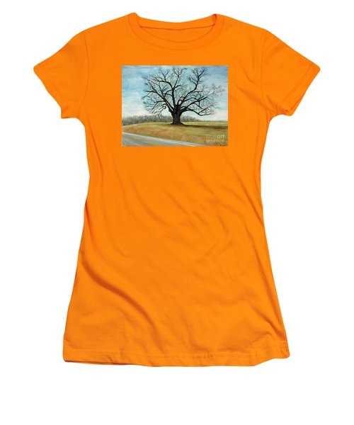 The Keeler Oak Women's T-Shirt (Athletic Fit)