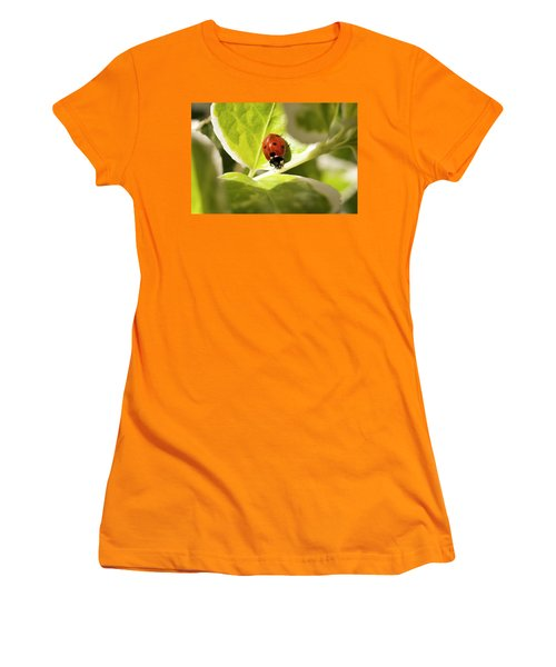 The Ladybug  Women's T-Shirt (Athletic Fit)