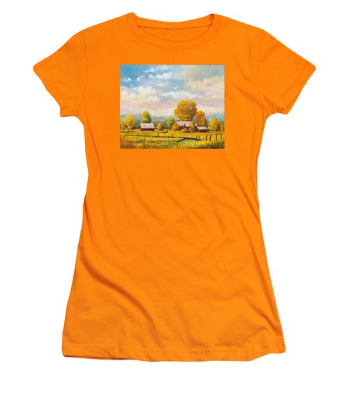The Lonely Horse Women's T-Shirt (Athletic Fit)
